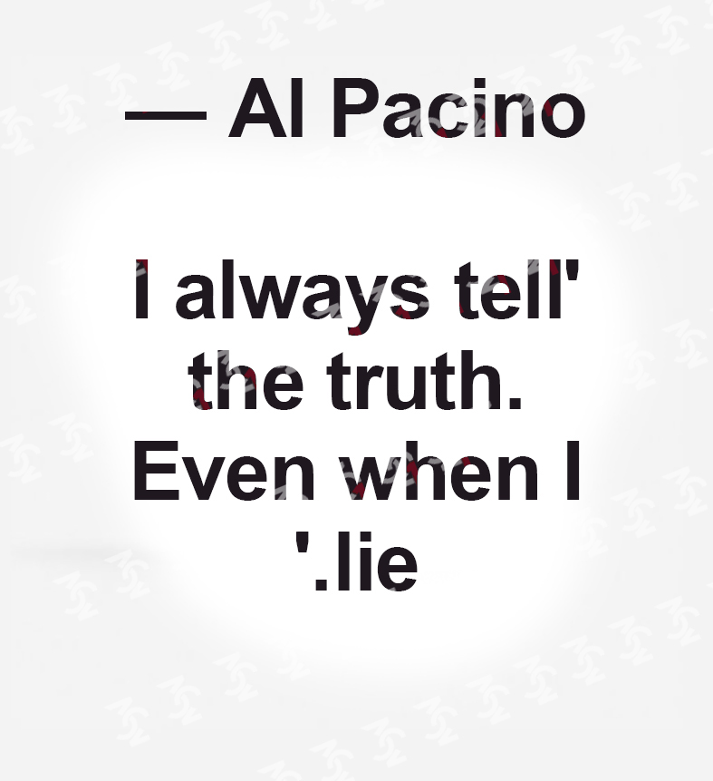 قاب دکوراتیو آل پاچینو-شماره1