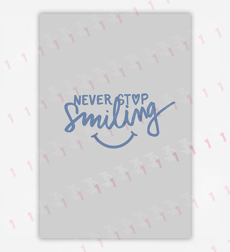 تایپوگرافی smile
